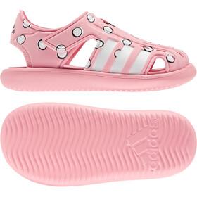 adidas Water Sandals Kids super pop/footwear white/core black